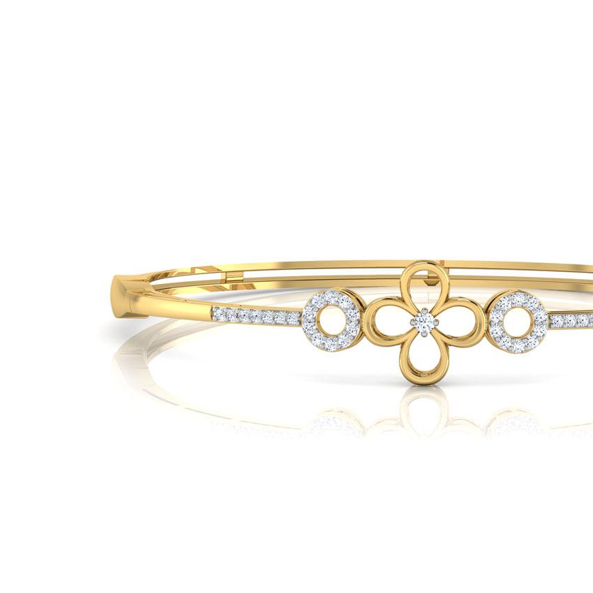 Diamond Bangles Diamond Bangles Designs line at Best Price in