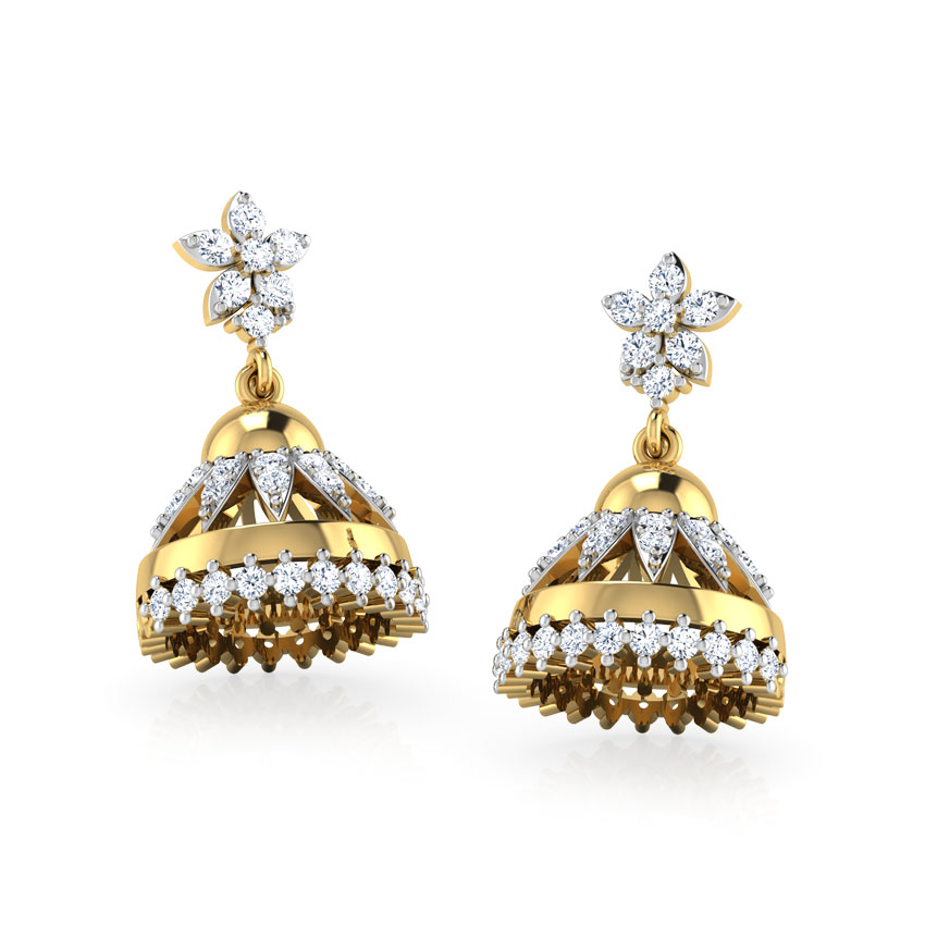 buy jhumka earrings designs online at best price india