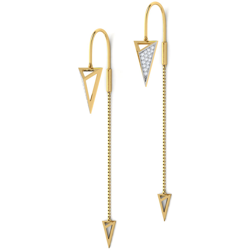 Buy Sui Dhaga Earrings Design line Price Starting Rs 11 477 in