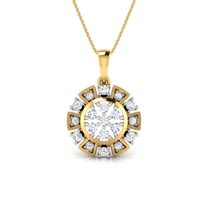 Antique Sun Pendant Jewellery India Online Caratlane Com