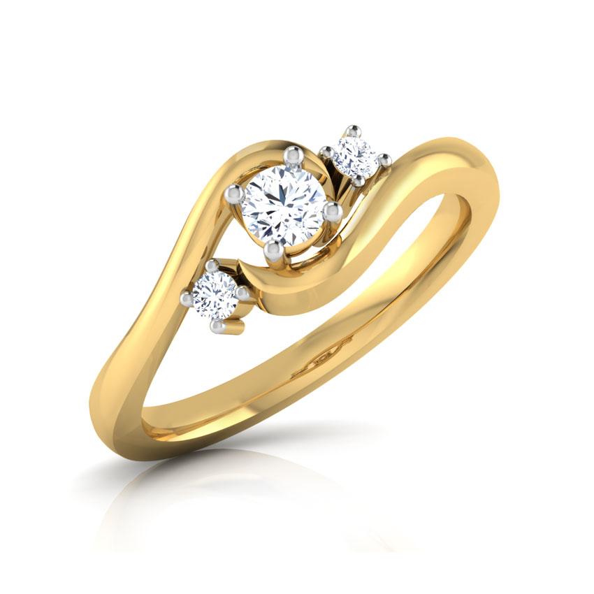 Three Diamond Nose Ring