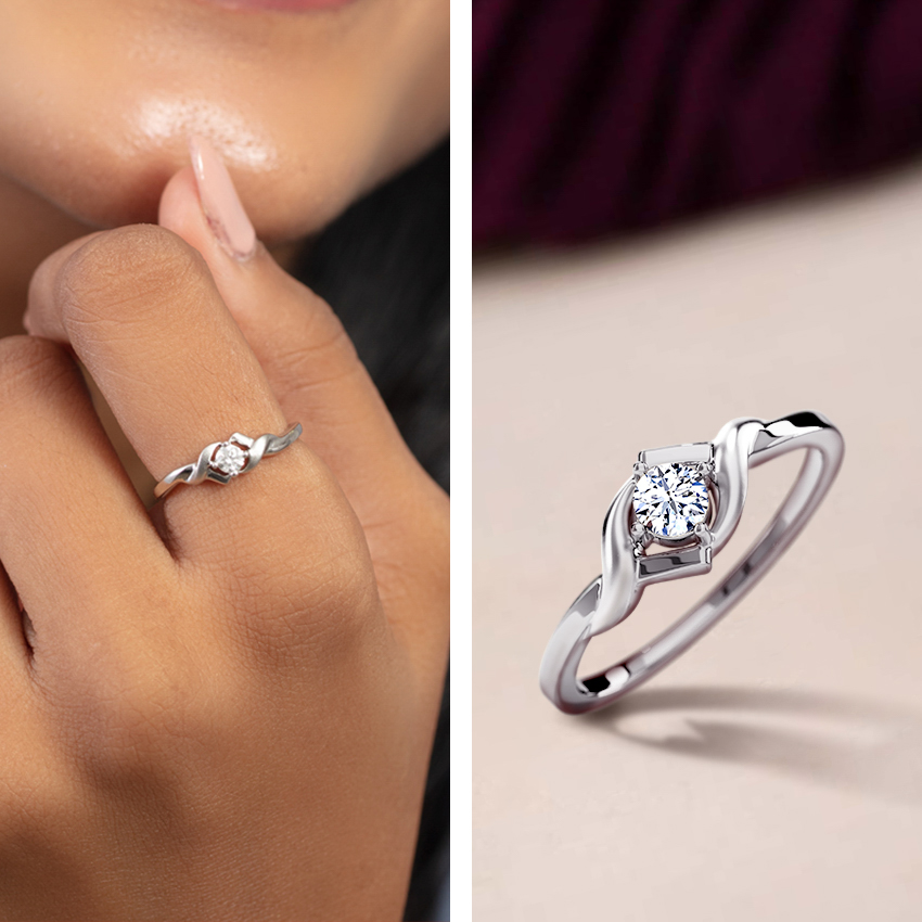 ring engagement old halo carat l diamond jewelry european product cut platinum