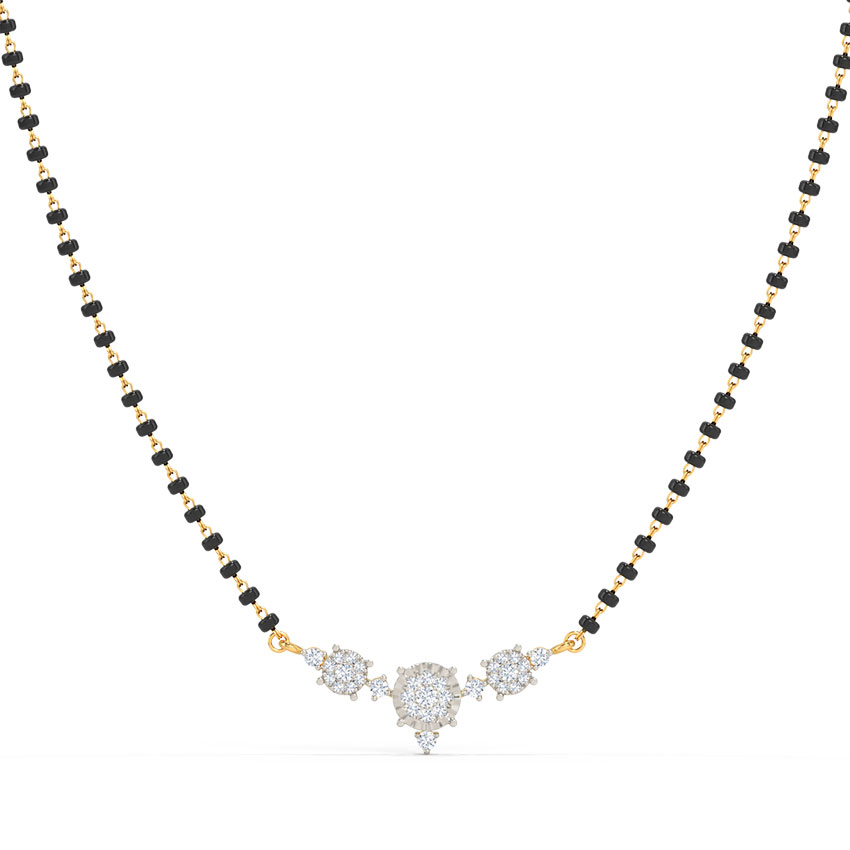Buy Diamond Mangalsutra Designs line at Best Price in India