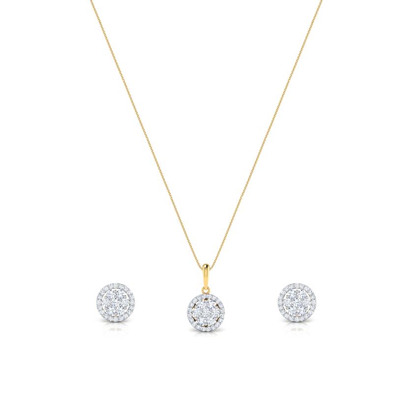 Carol Seven Stone Matching Set Jewellery India Online - CaratLane.com