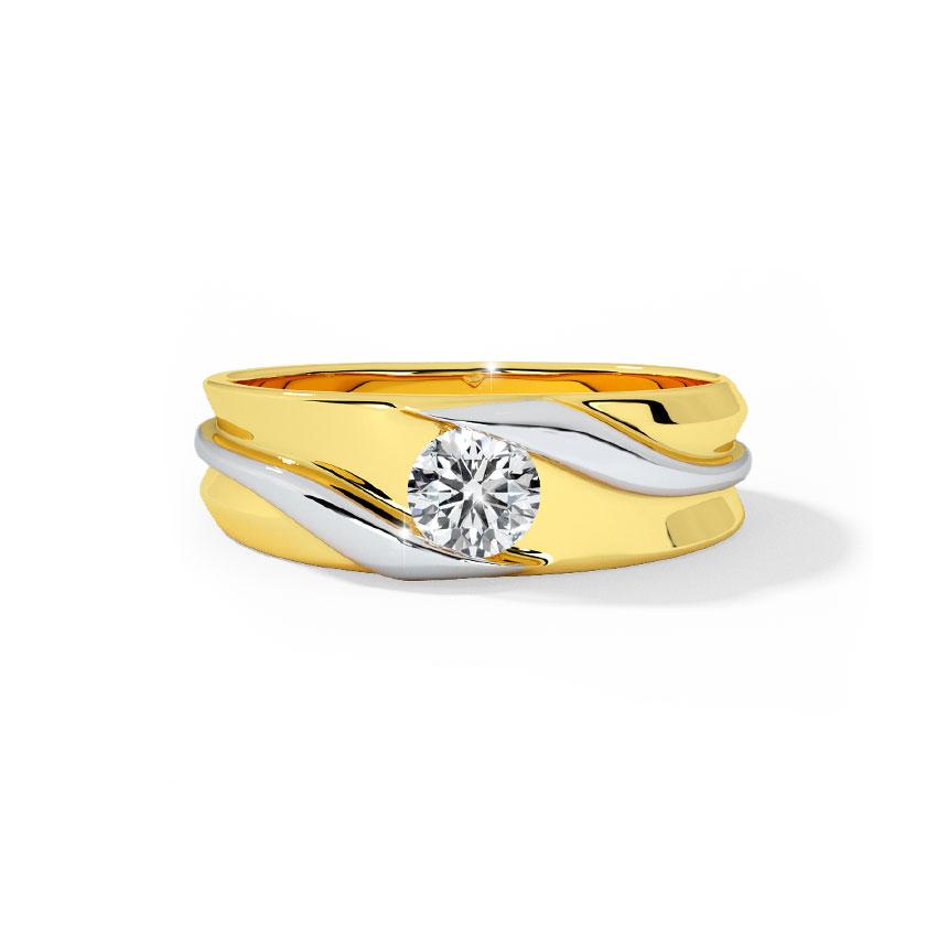 Solitaire Baguette Diamond Ring Jewellery India Online - CaratLane.com