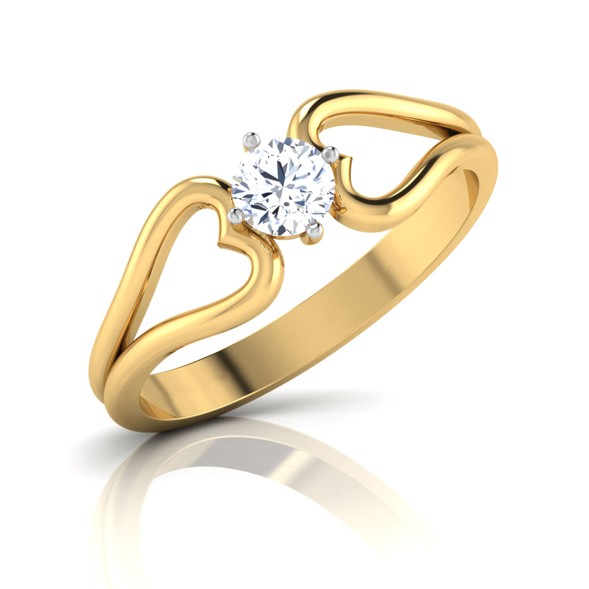 Buy Solitaire Rings Design line Price Starting Rs 25 929 in India