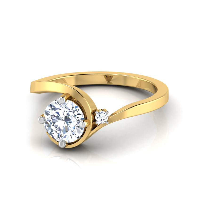 promise solitaire ring jewellery india caratlane
