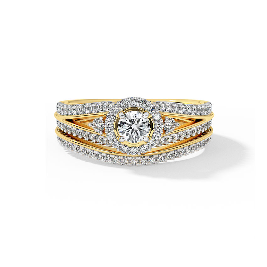 Buy Solitaire Engagement Rings Design line Price Starting Rs