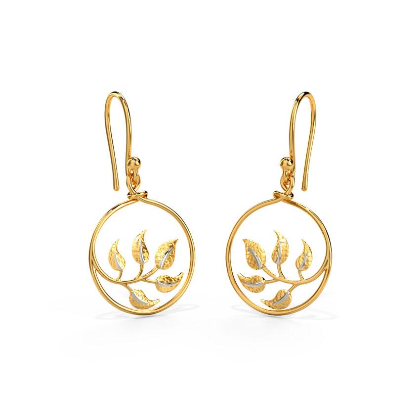 Kalika Trellis Earrings Jewellery India Online - CaratLane.com