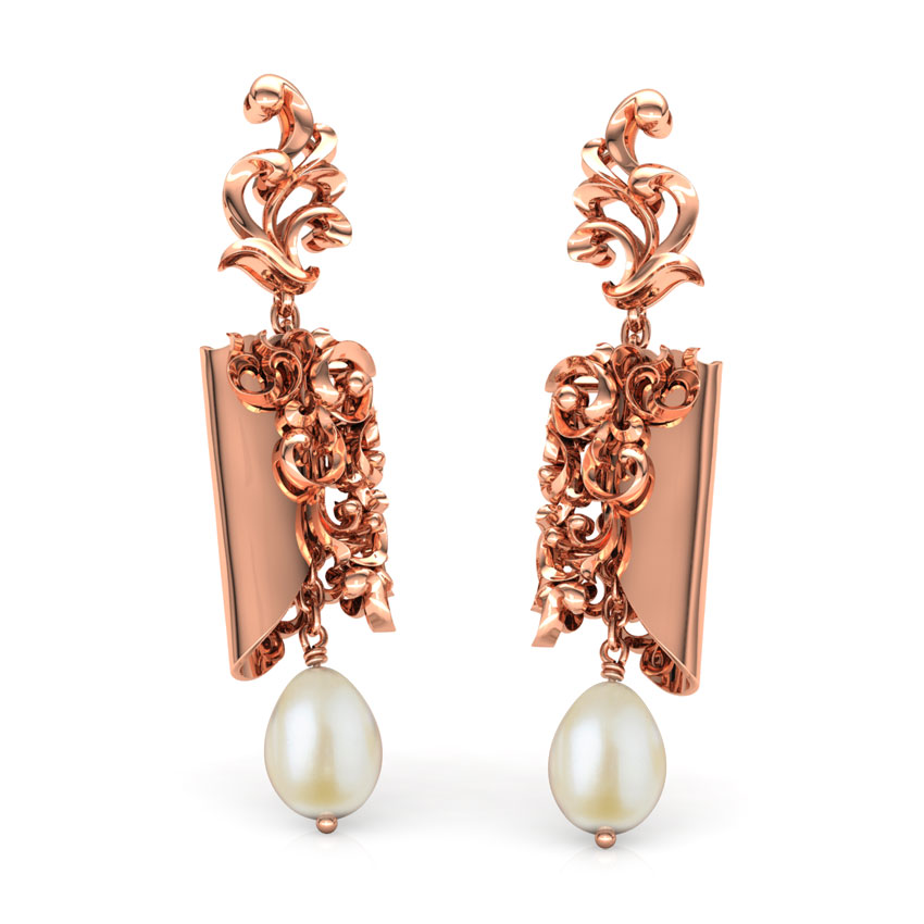 gold earring designs images with price