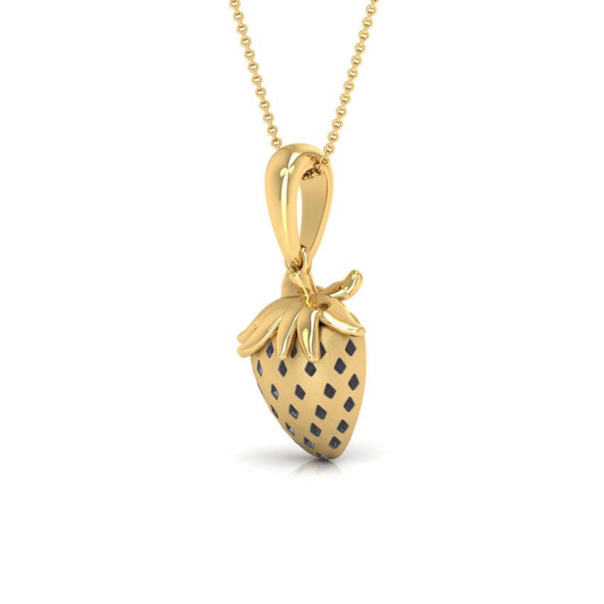Quinn strawberry pendant jewellery india online caratlane aloadofball Gallery