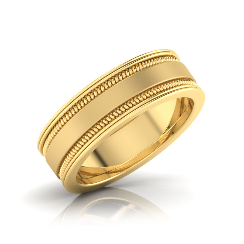 ladies womens products designs gold band il wedding ripples fullxfull design ring water bands hammered handmade original yellow