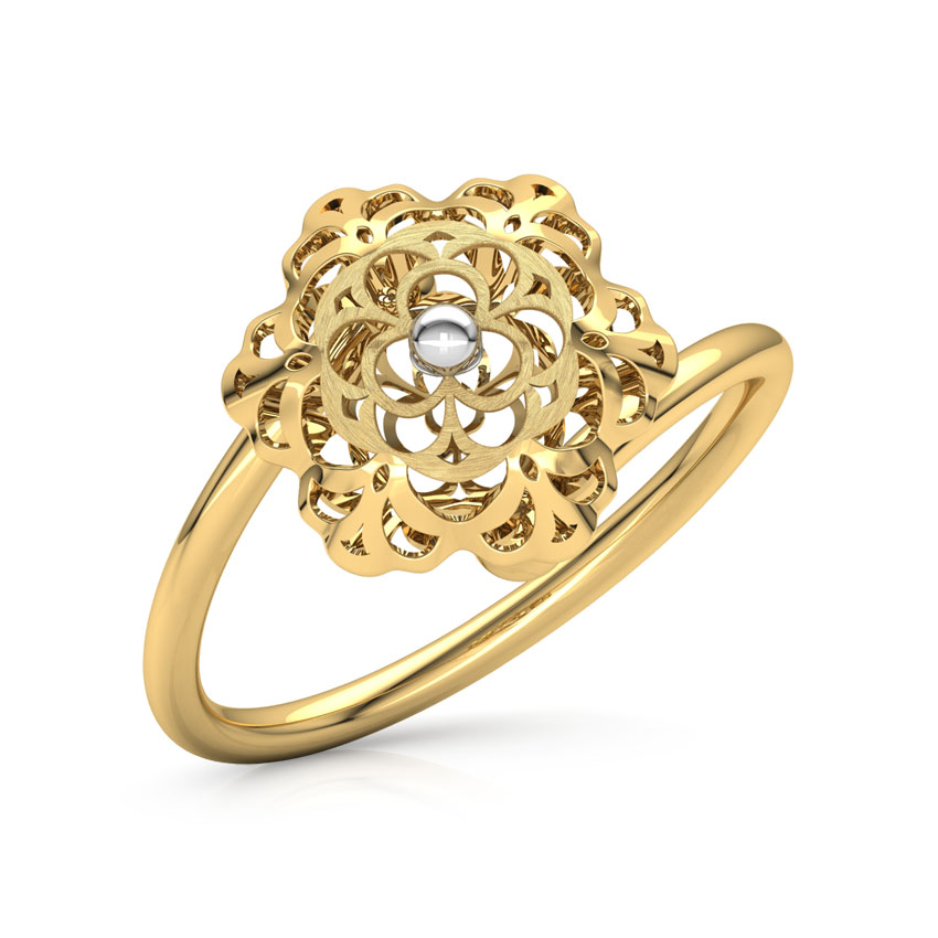 Abril Cutout Ring Jewellery India line CaratLane