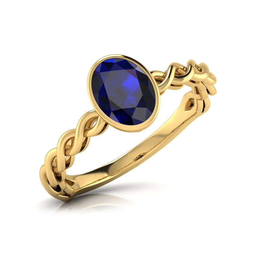 Gold Rings for Women line at Best Price in India