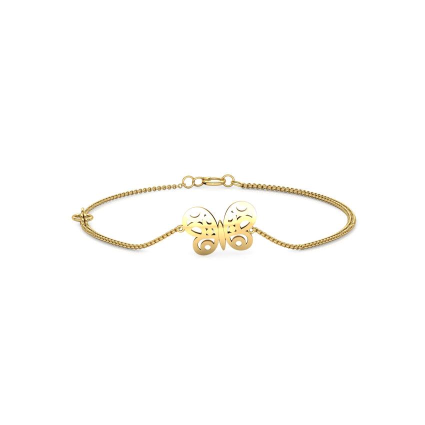 Butterfly Cutout Kids Bracelet Jewellery India Online - CaratLane.com