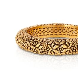 Haiya Leafy Bangle Jewellery India Online
