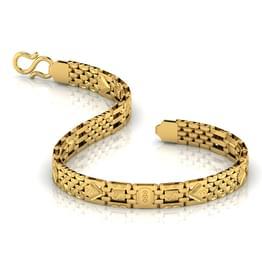 Geometric Lined Men S Bracelet Jewellery India Online