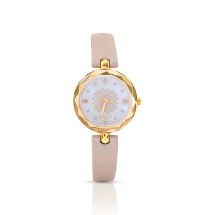 Nebula Mystique Mughal  Watch For Women With White Dial