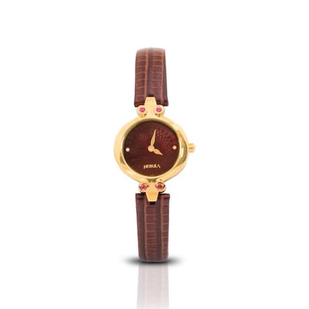 Nebula Ajanta Ellora  Watch For Women With Wine red Dial