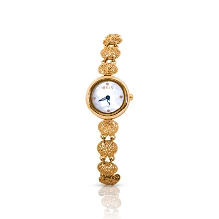 Nebula Filigree  Watch For Women With White Dial