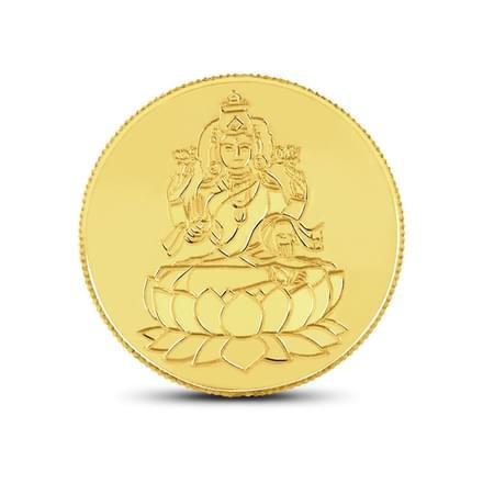 1gm, 22Kt Lakshmi Gold Coin