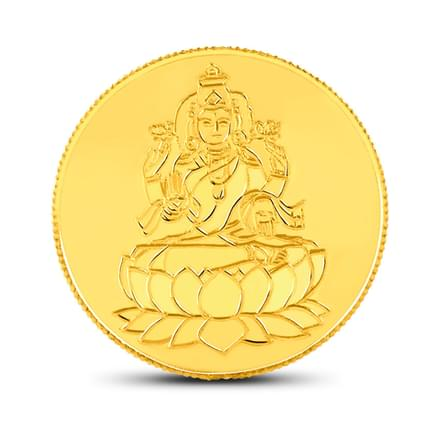8gm, 24Kt Lakshmi Gold Coin