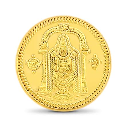 4gm, 22Kt Lord Balaji Gold Coin