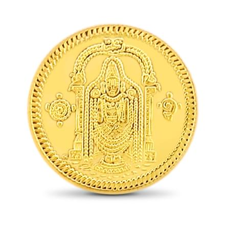 8gm, 22Kt Lord Balaji Gold Coin