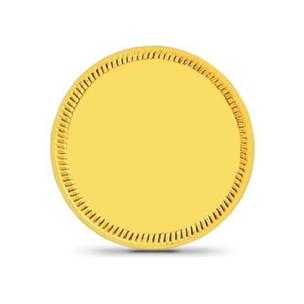 1gm, 24Kt Plain Gold Coin