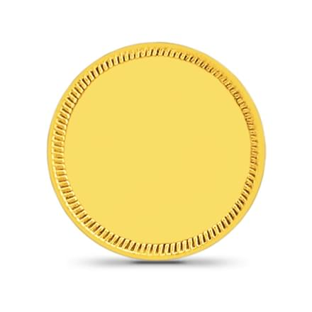 2gm, 24Kt Plain Gold Coin