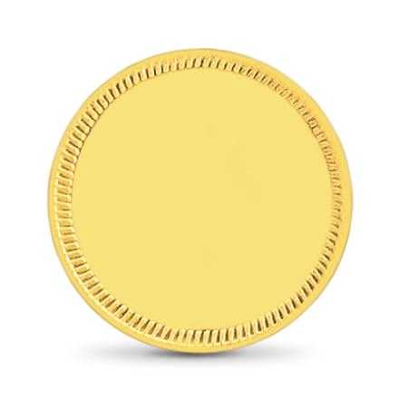 4gm, 22Kt Plain Gold Coin