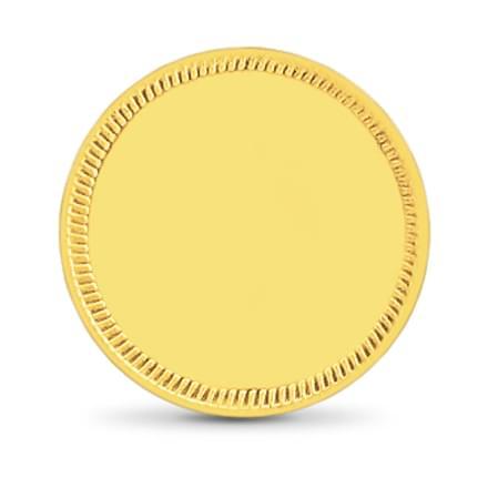 8gm, 22Kt Plain Gold Coin