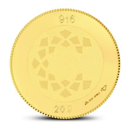 20gm, 22Kt Lakshmi Gold Coin