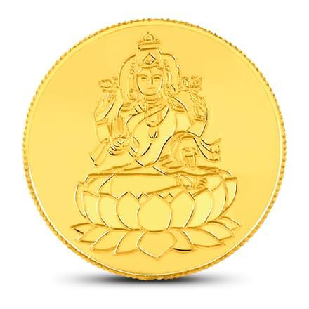 1ounce, 24Kt Lakshmi Gold Coin
