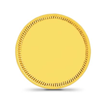 5gm, 24Kt Plain Gold Coin