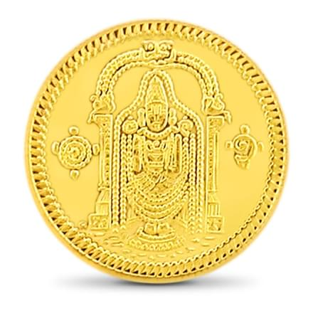 20gm, 24Kt Lord Balaji Gold Coin