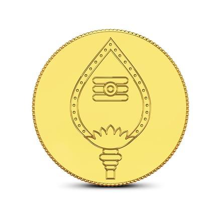 4gm, 24Kt Lord Murugan Gold Coin