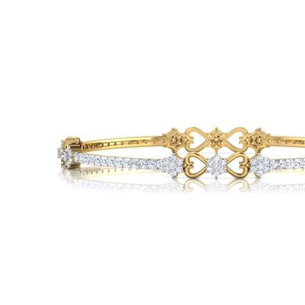 Floriana Swirl Bangle