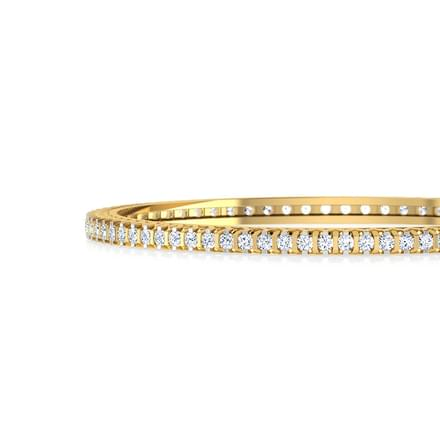 Effulgent Diamond Bangle