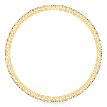 Shining Diamond Bangle