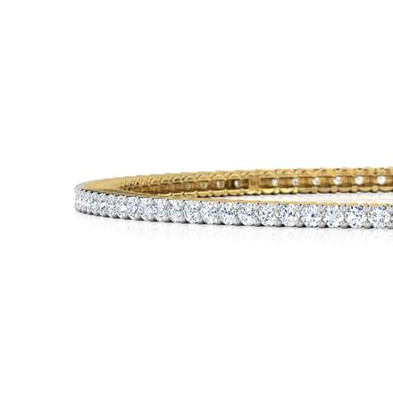 Radiant Diamond Bangle