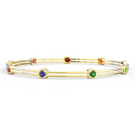 Classic Navratna Bangle