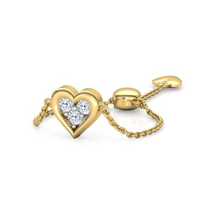 Heart Full of Love Flexi Ring
