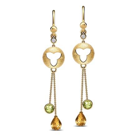 Christmas Bells Hook Earrings