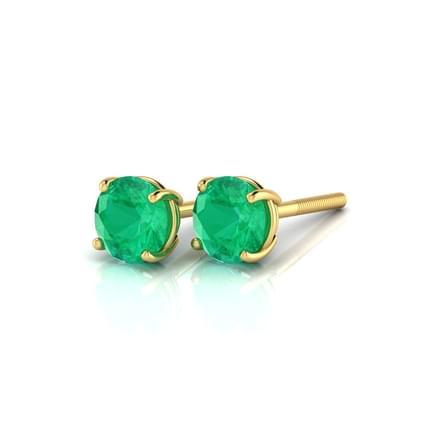 Simply Emerald Earrings