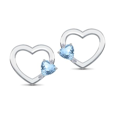 Heart Cluster Earrings