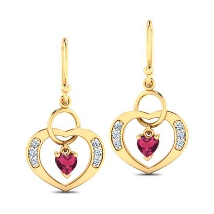 Amor Ruby Earrings