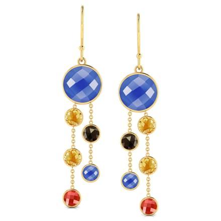 Burgeon Multistone Earrings