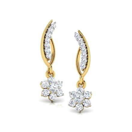 Flower and Stalk Diamond Drops