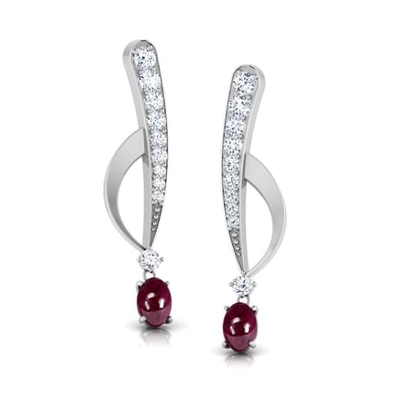 Floret Diamond Earrings